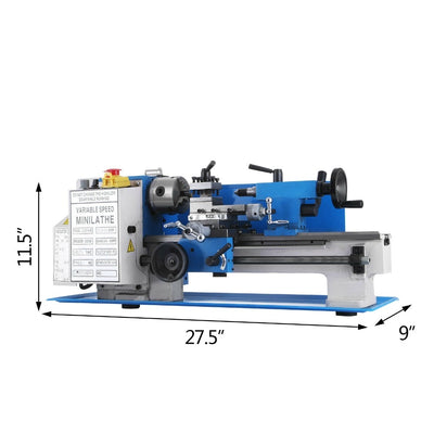 Mini Metal Lathe Machine  Free Shipping  Variable Speed Milling Lahte