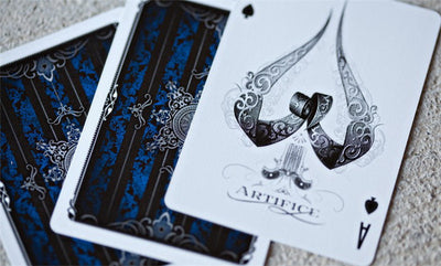 Blue Artifice V2 Cartes Ellusionist Deck Bicycle Playing Cards Deck Rare New Sealed Magic Tricks - Mirage Novelty World