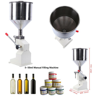 5-50ml Liquid Bottle Filling Machine Water Liquids Filling Machine for Shampoo Oil Cosmetic Cream Paste Bottler Filler