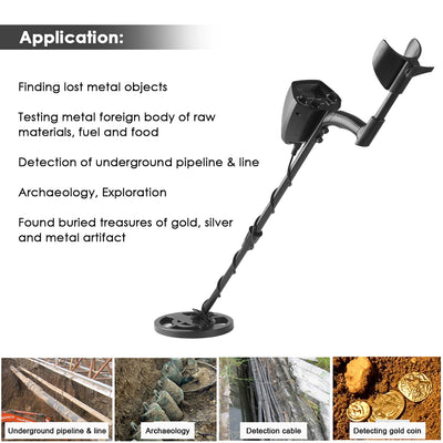 Underground Metal Detector Metal Finder Gold Detector Treasure Hunter Gold Digger Metal Detection Instrument for Metal Finder - Mirage Novelty World