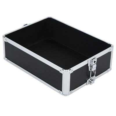 5 in 1 Aluminium Makeup Trolley Cosmetic Case Large Storage Box Makeup Nail Art Beauty Cosmetic Vanity Case Pull Box