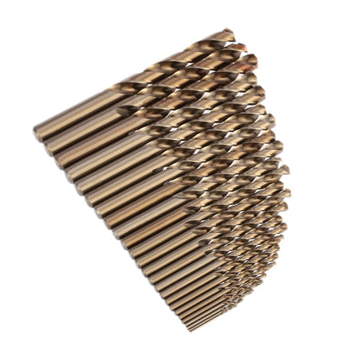 25pcs/set Professional Twist Drill Bit Set for Woodworking Drill Bits Round Shank Cobalt Metal Drilling power Tools ferramentas - Mirage Novelty World