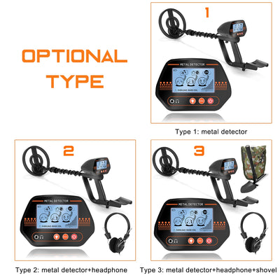 MD830 Profession Underground Metal Detector High Sensitivity Jewelry Treasure Gold All Metal Detecting Waterproof Tool Finder