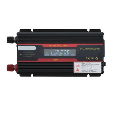 6000W 12V 24V Intelligent Solar Power Car Inverter Modified Sinewave Converter with LCD Display Used as Power Supply Power Bank - Mirage Novelty World