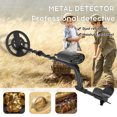 GT6100 Portable Underground Metal Detector High Sensitivity Jewelry Treasure Gold Metal Detecting with All Metal and Disc Modes - Mirage Novelty World