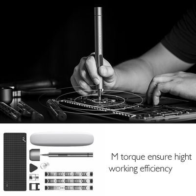 Wowstick 1F+ Mini Electric Screwdriver Power Tools Screwdriver Cordless Screw Driver Kit DIY Tool Kit with LED Light Battery - Mirage Novelty World