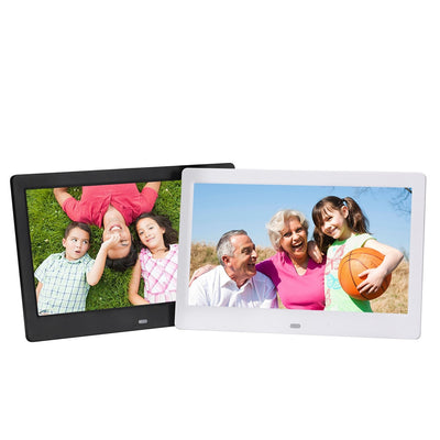 10.1 Inch High Definition 1280*800 Full Function Digital Photo Frame Electronic Album  Picture Music Video Christmas Gifts