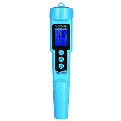 3 in 1 PH Meter Digital ORP/TEMP Meter Water Detector Water Quality Monitor Multi-parameter Water Quality Tester - Mirage Novelty World