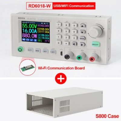 RD RD6018 RD6018W USB WiFi DC-DC Voltage Current Step-down Power Supply Module Buck Voltage Converter Voltmeter VS RIDEN RD6006 - Mirage Novelty World