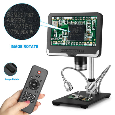 LCD Screen 2.0MP 200X Digital Microscope Industrial Inspection Mobile Phone Repairing PCB Soldering SMT - Mirage Novelty World