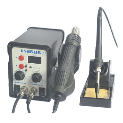 750W Hot Air Soldering Station Rework Station Mobile Phone Repair Tools Iron Soldering Solder Holder