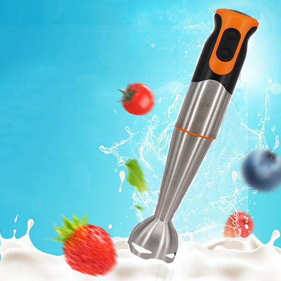 4-in-1 Handhold Electric Food Blender Multifunctions Baby Food Mixer Juice /Milk Shake/Rice Paste/Egg Beater Cooking Stick - Mirage Novelty World