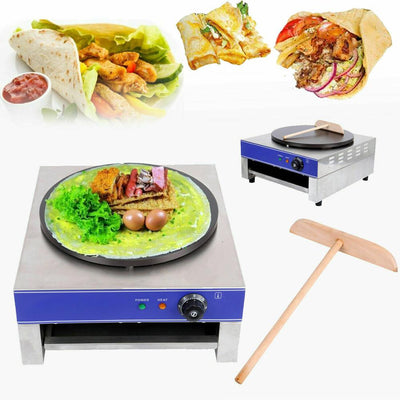 Electric Pancake Machine Desktop Frying Pan Cake Commercial Crepe Maker Machine - Mirage Novelty World