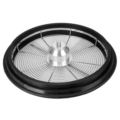 Hydroponic 16 inch Bud Leaf Bowl Grass Trimmer Twisted Spin Cut for Plant Bud Leaf Trimmer