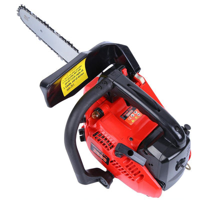 Mini Saw Gasoline Chainsaw 25.4cc 1.22 HP Petrol Chain Saw Motor Portable Chainsaw Woodworking Garden Tools