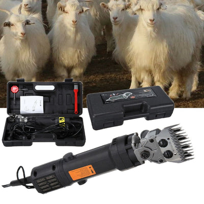 320W 110V Electric Sheep Goat Shearing Machine Clipper Farm Shears Cutter Wool scissor Cut Machine