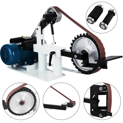 Grinder Belt Sander 3 In 1 Belt Sander 1500W 2HP 2800RPM Multipurpose Bench Sander With Constant Speed