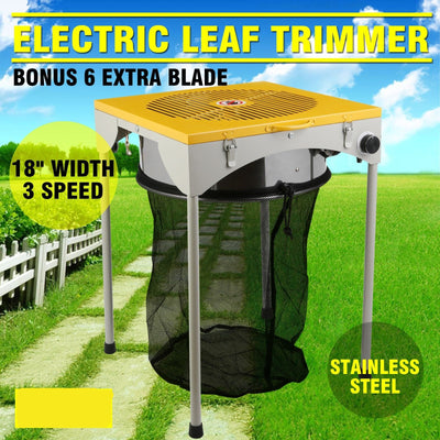"Hydroponic Leaf Bud Trimmer 18""  Electric Trim Reaper 3 Speed Flowers Plants Pro - Mirage Novelty World"