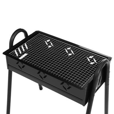 Portable Folding Barbecue Charcoal Grill Easy Assemble and Remove Barbecue Cooking Set BBQ Grill - Mirage Novelty World