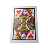 3 Pcs / Lot Find The Queen Jumbo Cards (30*45cm) Three Card Monte Red Bicycle Back Magic Trick Stage Magic - Mirage Novelty World