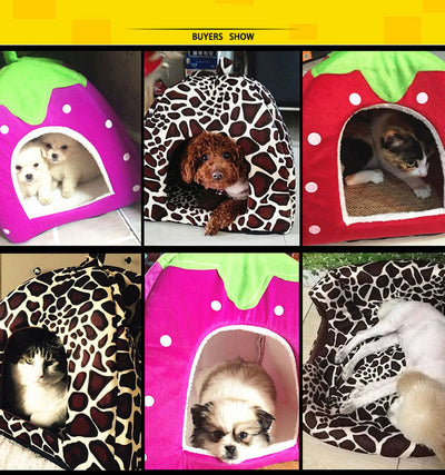 Foldable Dog Kennel Dog Bed For Dogs Cats Animals Pet House - Mirage Novelty World