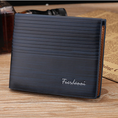 PU Leather Men Wallet Money Bag Credit Card Holders Dollar Bill Wallet Clutch Purse - Mirage Novelty World