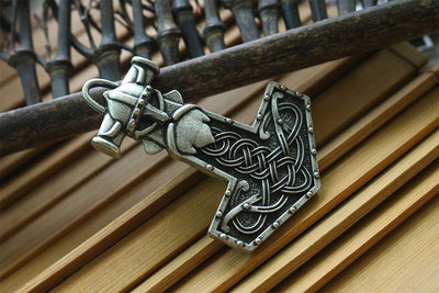slavic men pendant slavic god pendant Perun is the Slavic god of thunder - Mirage Novelty World