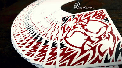 Kete Moon Deck Kete Wolf Flourish Collection Art Playing Cards Made In Taiwan Magic Tricks - Mirage Novelty World