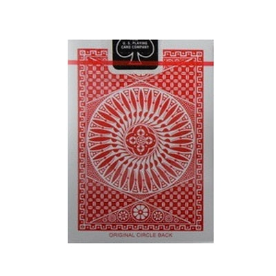 1pcs Original Tally-Ho No.9 Poker Fan Back Or Round Back Playing Cards Magic - Mirage Novelty World