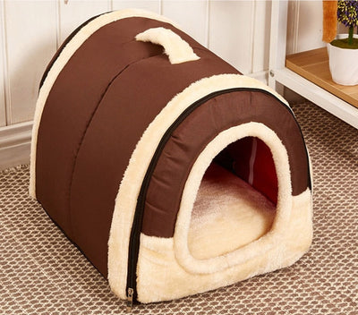 Hot!!!Foldable Travel Dog House Kennel Nest Bag Product With Mat For Small Medium Dogs Pet - Mirage Novelty World