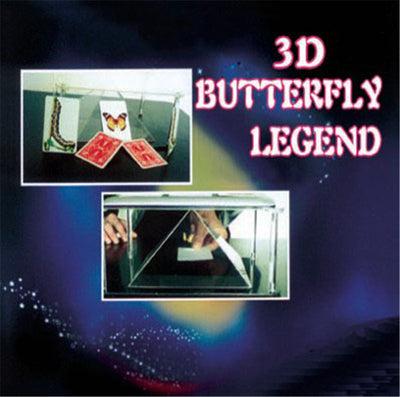 3D Butterfly Legend Magic Tricks Illusions  the Butterfly Close range magic - Mirage Novelty World