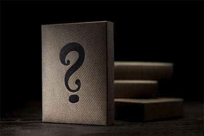 1 Deck Original Mystery Box Black Bicycle Deck Playing Cards By Theory11 Magic Tricks Card Magic - Mirage Novelty World