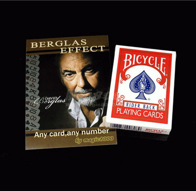 1 DECK Berglas Effect Original Bicycle Playing Cards Deck Poker Set Magic Tricks - Mirage Novelty World