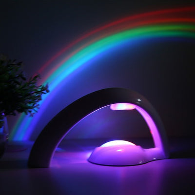 Colorful Romantic Sky Rainbow Projector Lamp - Mirage Novelty World