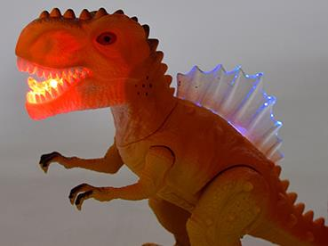Children's electric dinosaur toys luminescent sound simulation animal plastic model toy - Mirage Novelty World