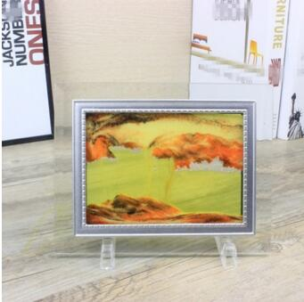 3D hourglass Decoration creative glass quicksand flow landscape painting Home decorations - Mirage Novelty World