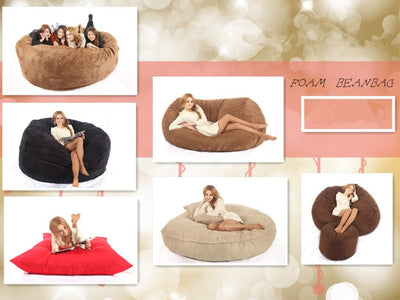 Large bean bags chair for Adult bean bags lazy bag - Mirage Novelty World
