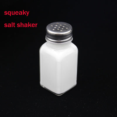 Squeaky Salt Shaker - Magic Tricks Funny Voice Magic Bottle Close Up Street Stage Magic - Mirage Novelty World