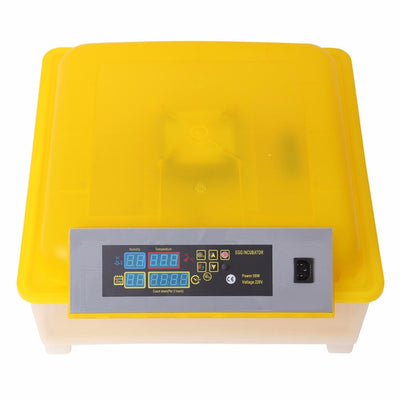Automatic Digital Temperature Control Incubator Hatchery Brooder For 48 Eggs