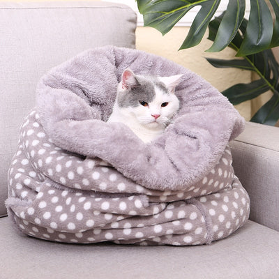 Pet Magic Warm Soft Sleeping Bag  Dog Cat Bed Kennel Mat Blanket Multiple Function House for Animals - Mirage Novelty World
