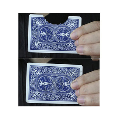Professional Bite Out Card magic tricks card magic illusions mental - Mirage Novelty World