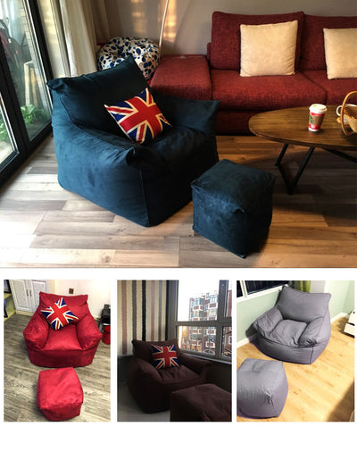 Bean Bag  Lounger  Sofa Chairs seat living room furniture Without Filling - Mirage Novelty World
