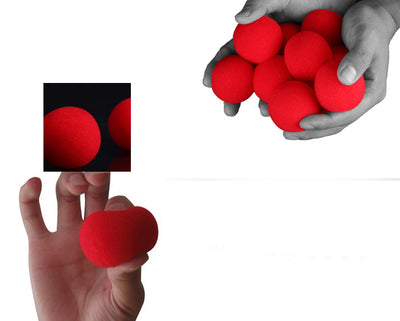 10pcs 4.5cm Finger Magic Tricks Props Sponge Balls Street Classical Illusion Stage Comedy Tricks Magic Balls - Mirage Novelty World