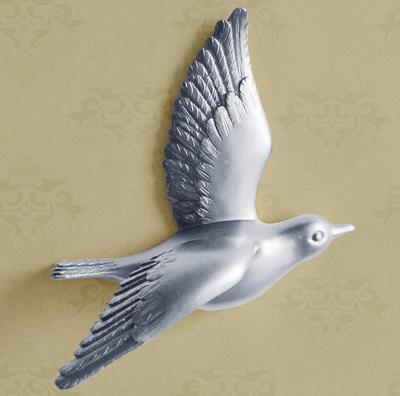 Resin bird, three-dimensional wall decor, wall stickers, creative Christmas decoration crafts - Mirage Novelty World