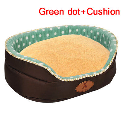 Double sided Big Size extra large dog bed sofa Kennel Soft Fleece Pet Dog Cat Bed s-xl - Mirage Novelty World