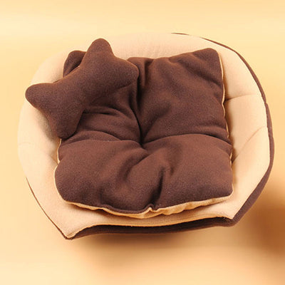 Foldable Soft Warm Winter Cat Dog Bed House Animal Puppy Cave Kennel - Mirage Novelty World