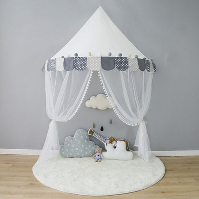 Children Playhouse Cotton Canvas Tent For Kids Room Decoration - Mirage Novelty World