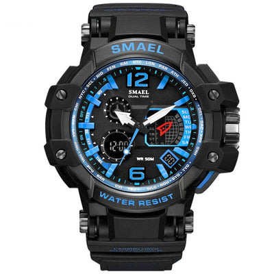 Men Watches White Sport Watch LED Digital 50M Waterproof Casual Watch S Shock Male Clock - Mirage Novelty World