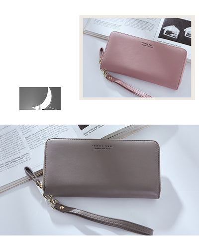 Wristband Women Long Clutch Wallet Large Capacity Wallets - Mirage Novelty World