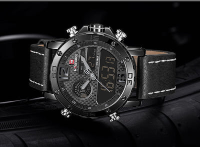 Mens Watches To Luxury Brand Men Leather Sports Watches Men's - Mirage Novelty World